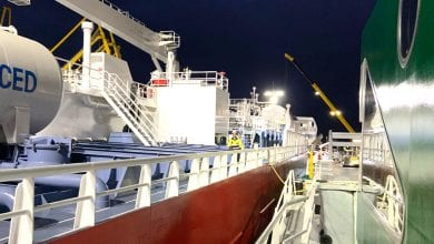 Photo of First SIMOPS LNG Bunkering Completed in Amsterdam