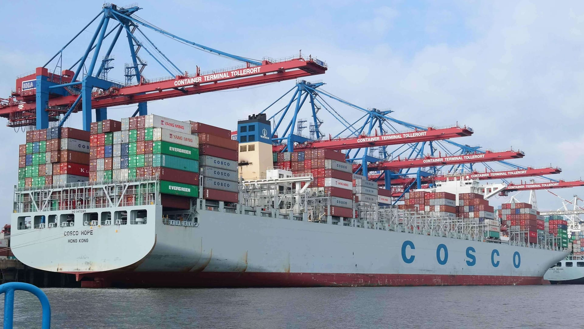 Qingdao Port Buys 33.3 Pct Stake in COSCO Shipping Ports (Abu Dhabi)