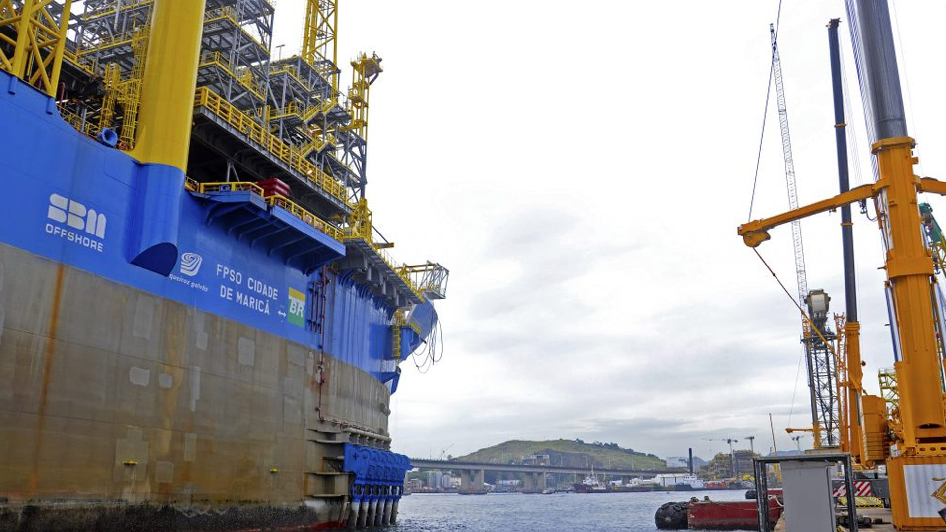 SBM Offshore Inks FPSO Sepetiba Deals with Petrobras