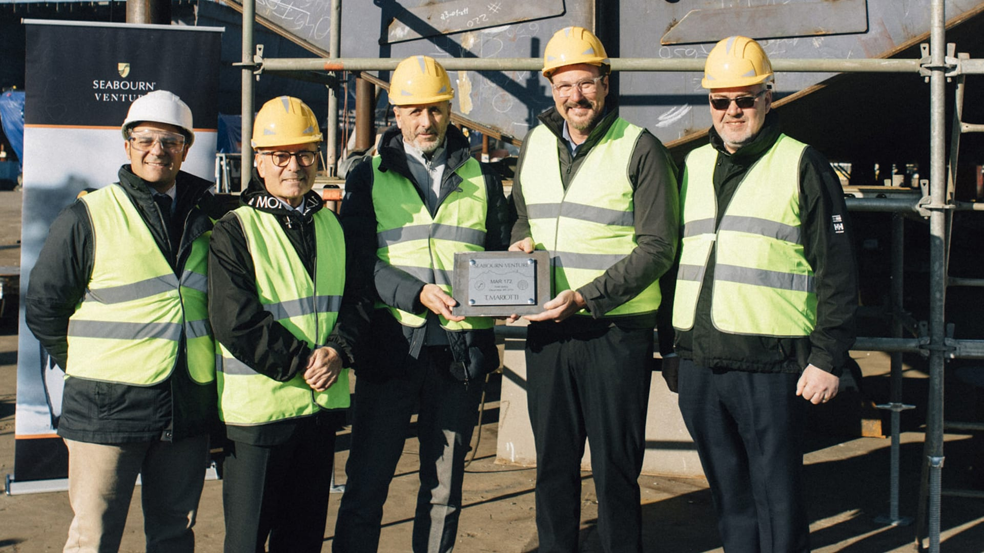 Seabourn Lays Keel for Seabourn Venture