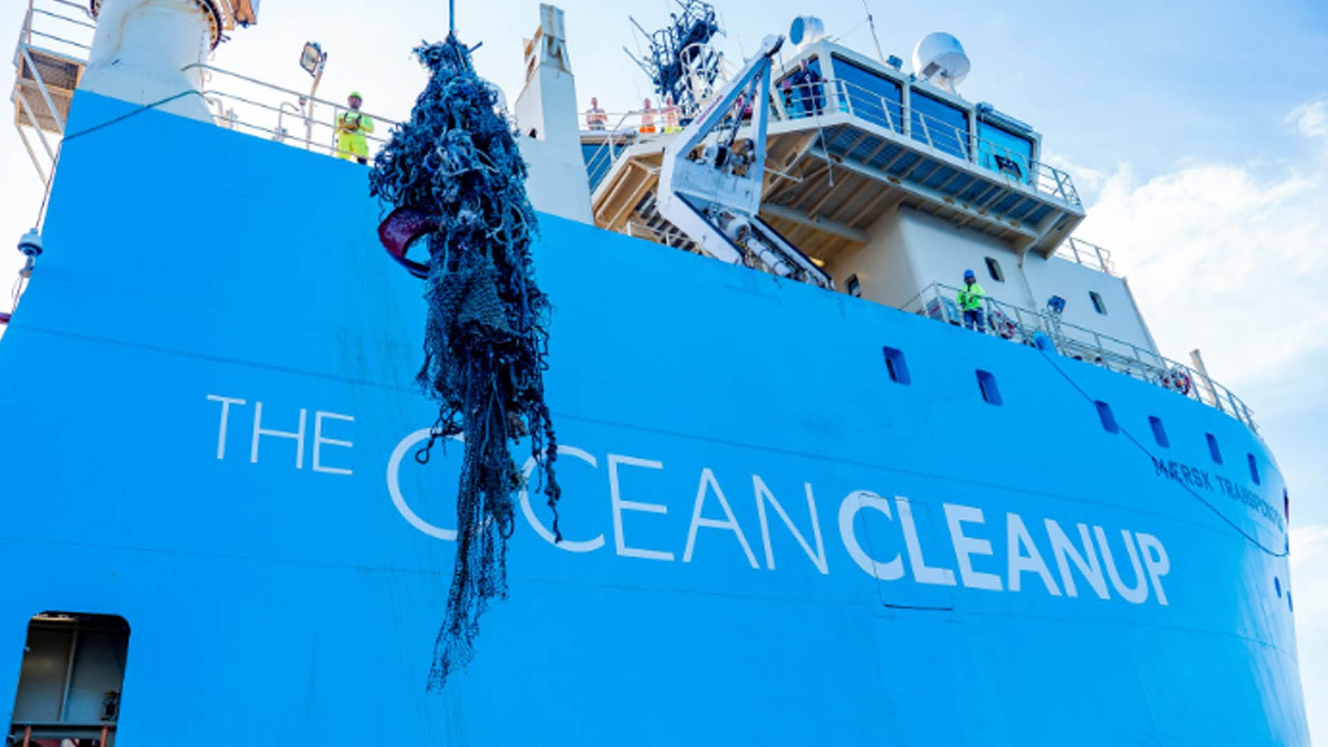 The Ocean Cleanup Brings First Catch of Plastic to Shore, Unveils New Project