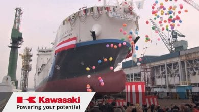 Photo of World's 1st Liquefied Hydrogen Carrier Named in Japan