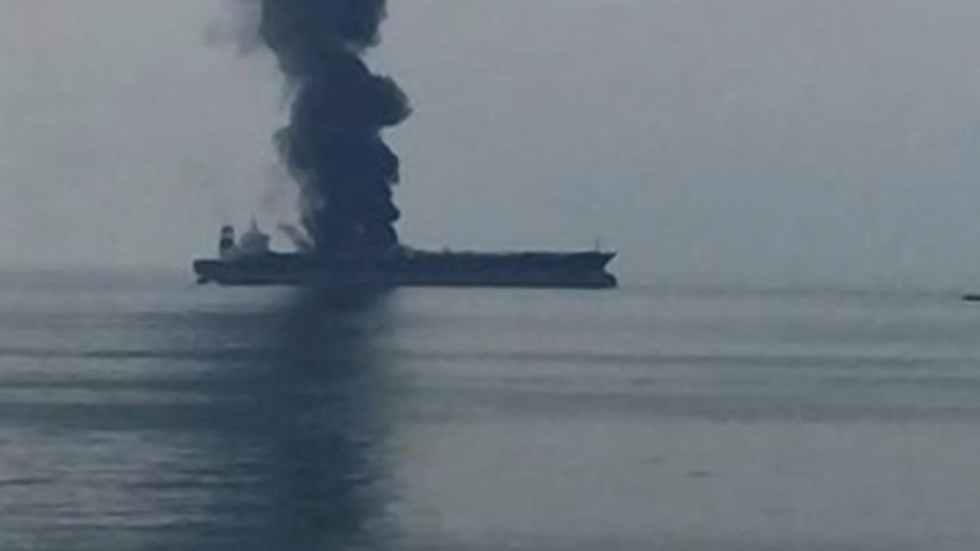 Fire Breaks Out on Supertanker off Dubai, Crew Safe
