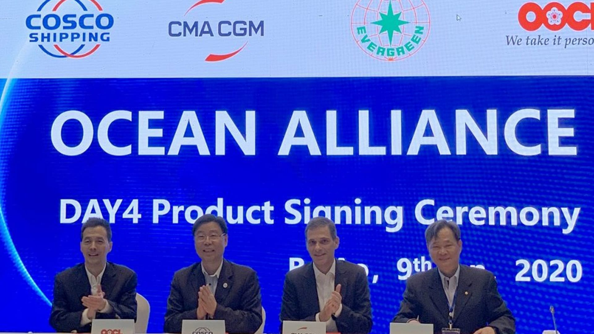 Ocean Alliance Unveils Day 4 Product Deploying 325 Boxships
