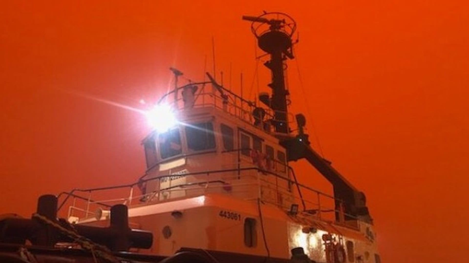 Pictures: Seafarers Help with Australian Bushfire Relief