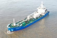 Photo of Singapore's 1st LNG-Powered Bunker Tanker Delivered