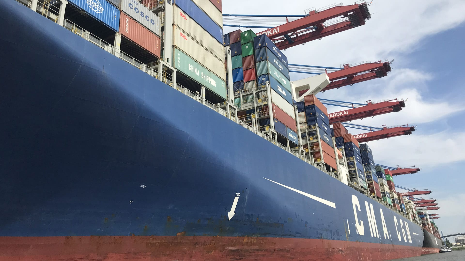 Six Seafarers on CMA CGM Ship Reported Ill amid Coronavirus Scare