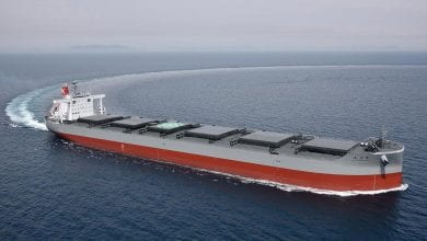 Photo of K Line: New Corona-Class Coal Carrier Delivered