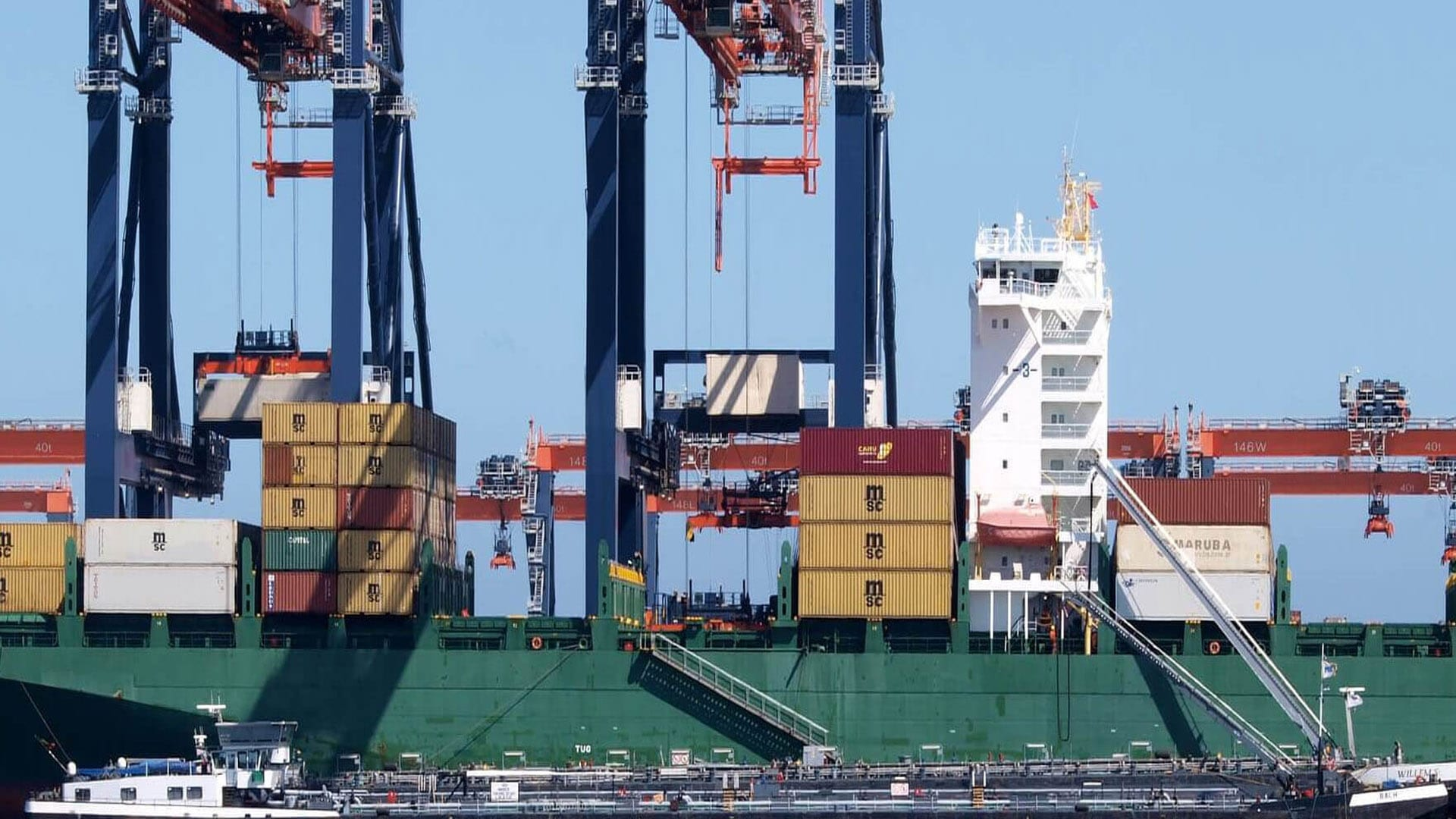 Slowing World Trade Impacts Port of Rotterdam Volumes