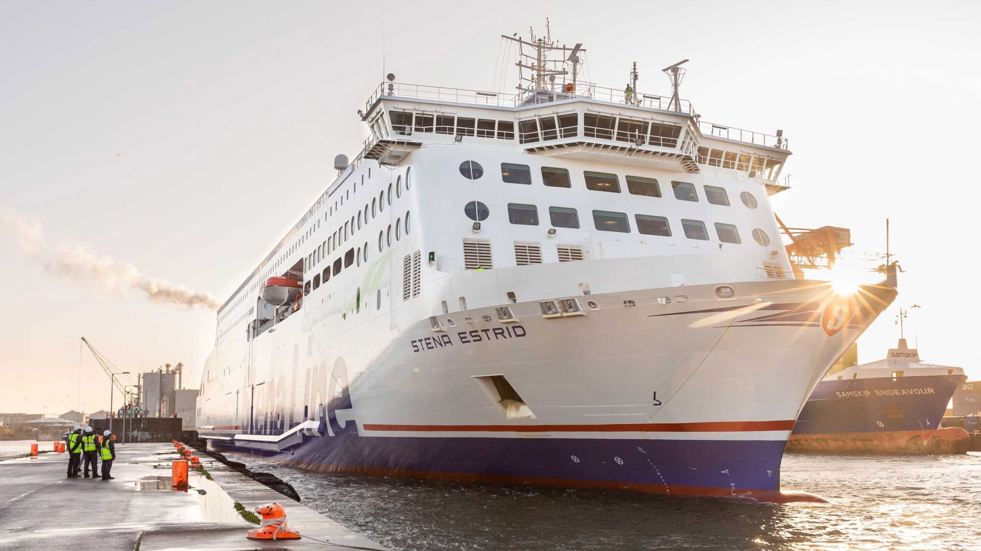 Stena Line's New E-Flexer Makes Its Irish Sea Debut