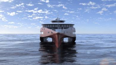 Photo of Austal Building 83m Trimaran Ferry for Japan