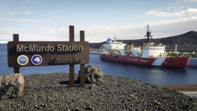 Photo of Icebreaker Polar Star Heads Home After Successful Antarctic Season