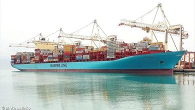 Photo of Seafarers on Maersk Ship Test Positive for COVID-19 in China