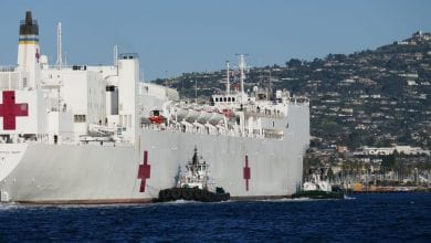 Photo of Foss Maritime Assists USNS Mercy into Port
