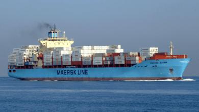 Photo of Captain of Maersk Batam Medevaced