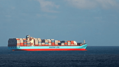 Photo of Crew Members of Maersk Boxship Test Positive for Covid-19