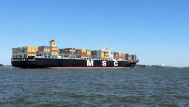 Photo of 7 Kidnapped from MSC Talia F Containership