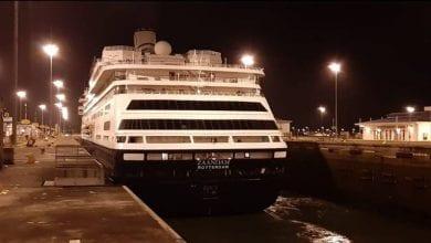 Photo of Coronavirus-hit Ship Approved to Pass Through Panama Canal