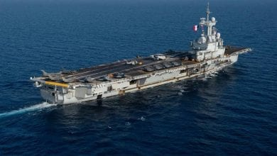 Photo of French Aircraft Carrier Heads Home Due to Possible COVID-19 Cases