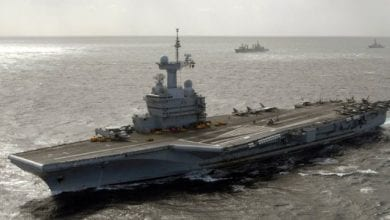Photo of French Carrier Returns to Port With 40 Suspected COVID-19 Cases