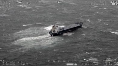 Photo of Update: Cargo removal from grounded ship begins off Scotland