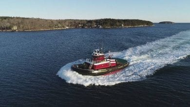Photo of McAllister Takes Delivery of New Tug Eileen McAllister