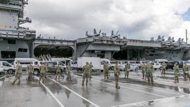 Photo of Over 150 USS Theodore Roosevelt Sailors Test Positive