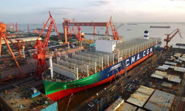 World's Biggest LNG Engine Approved for CMA CGM Megaships ...