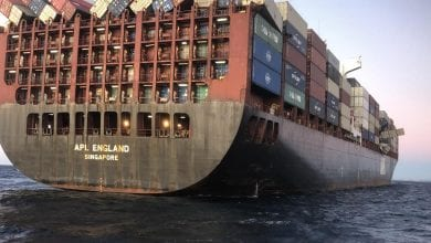 Photo of APL England Master Charged Over Loss of Containers Off Sydney