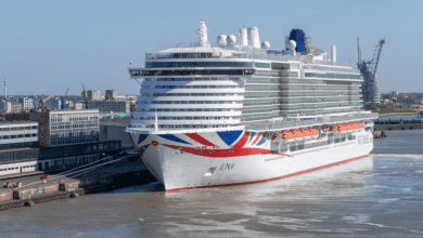 Photo of P&O Cruises' LNG-powered newbuild to go on sea trials