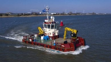 Photo of Damen Delivers Workboat to Inverlussa Marine Services