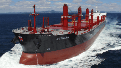 Photo of Swire Bulk takes delivery of eco-friendly, log-fitted bulker
