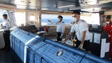 Photo of ITF in Canada shows seafarers the way home