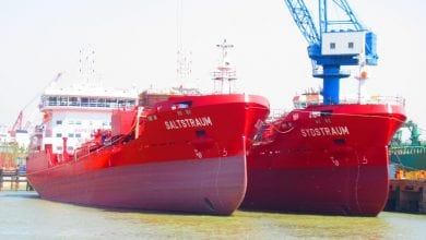 Photo of Utkilen takes delivery of third LNG-ready tanker