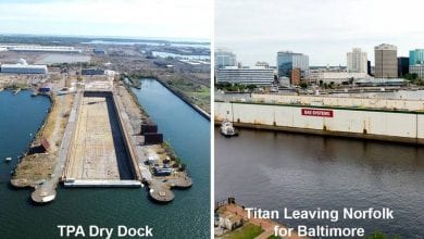 Photo of Tradepoint Atlantic Dry Dock Back in Action