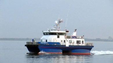 Photo of Waterjets Refit for Five Offshore Wind Vessels