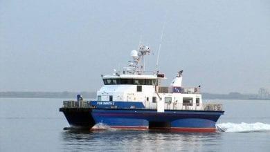 Photo of Waterjets Refit for Five Offshore Wind Vessels