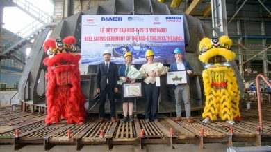 Photo of Keel Laid for Ports of Auckland's New E-Tug