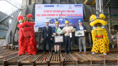 Photo of Damen: Keel laid for Ports of Auckland's fully electric tug