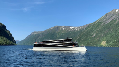 Photo of The Fjords welcomes its 2nd all-electric passenger ship