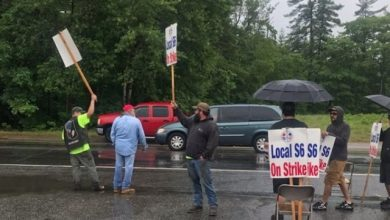 Photo of Bath Iron Works Adds More Non-Union Labor as Strike Continues