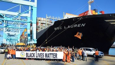 Photo of Black Lives Matter and maritime