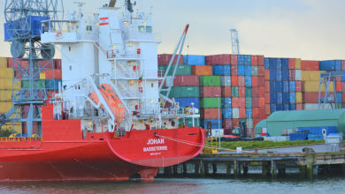 Photo of Port of Rotterdam launching a blockchain pilot project on PIN-free container handling