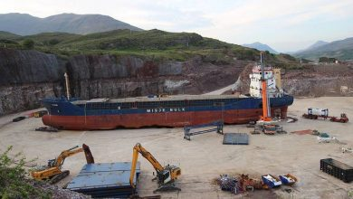 Photo of Video: Salvaged Cargo Ship Kaami Recycled