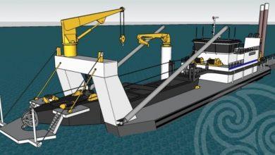 Photo of Construction Underway for Callan Marine 28″ Dredge