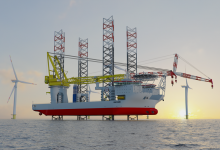 Photo of Mega jack-up to officially debut on world's largest offshore wind farm