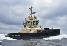 Photo of Sanmar Delivers Tug to Latvia's Port of Ventspils