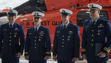 Photo of USCG Aircrew Receives Nation's Highest Award for Heroism in Aviation
