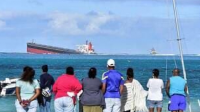 Photo of Mauritius declares 'state of environmental emergency' as damaged bulker could break in two