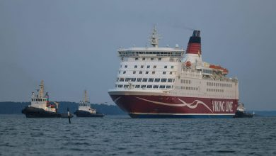 Photo of MS Amorella Arrives in Port After Grounding